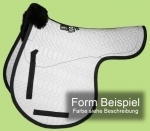 Bartl Sheepskin Numnah - Dressage, GP or Jump - 'Feeling'