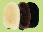 Bartl Sheepskin Double Sided Grooming Mitt